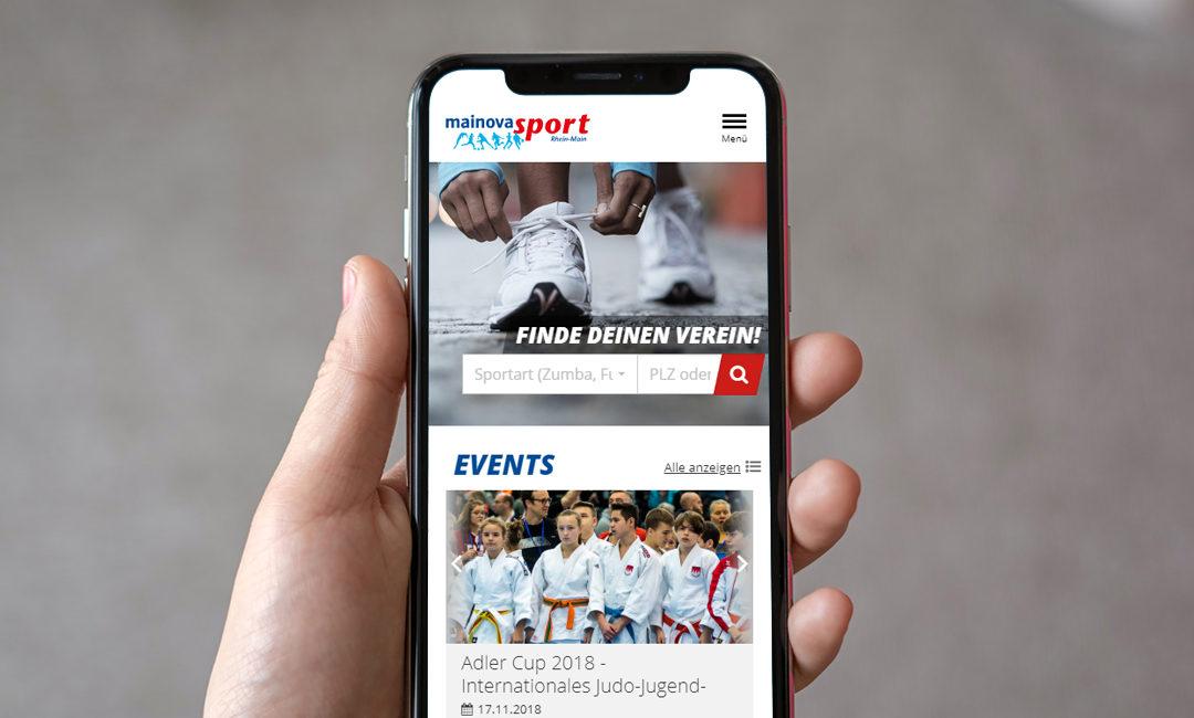 Mainova-Sport und Sportkreis Frankfurt: Sportler findet Sportverein
